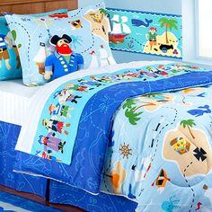 Olive Kids Pirates Comforter - http://www.theboysdepot.com/olive-kids-pirates-bedding-set.html