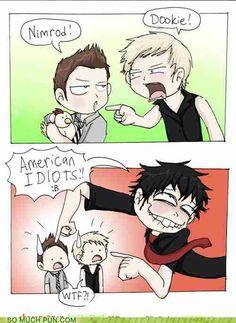 Hehehe ohh Green Day
