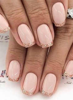 French Manicure With A Twist, French Manicure Nails, French Manicure Designs, French Nails, Nail Designs, Manicure Ideas, Sophisticated Nails, Stylish Nails, Classy Nails