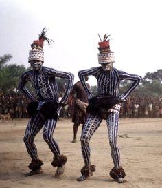Masquerade at Ngashi, Pende People, Congo - The Nokia...