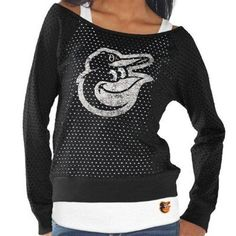 1ddea1d7a4d Baltimore Orioles Womens Holy Long Sleeve T-Shirt and Tank – Black Baltimore  Orioles Baseball