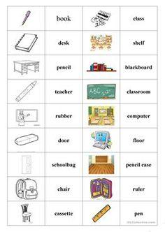 School things (domino)