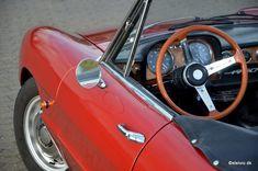 Deze Alfa Romeo 1750 Spider Veloce Duetto uit 1968 wordt in Denemarken te koop aangeboden door Automobili Stelvio. In 2003 werd de auto geïmporteerd naar