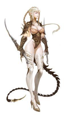 ArtStation - Assassin_elf, Bangku An