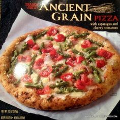 """What in the world are """"ancient grains""""? and what are they doing in my pizza? Another great vegetarian pizza from Trader Joe's. Let me know what you think of this Ancient Grain Pizza! #traderjoes #pizza"""