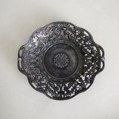 Ornate Silver Dish