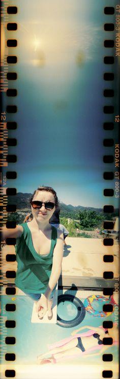 Sweet sprocketed shot by Lauren Randolph using the 360-degree Spinner Camera. -- I want that camera!!! #ILovePhotojojo!