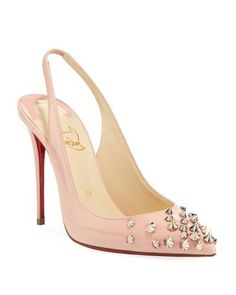 a8fb108bb1a Drama Sling Spiked Leather Pump (Neiman Marcus) Christian Louboutin Pumps