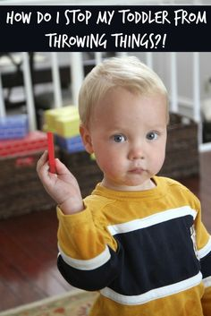Toddler Approved!: How Do I Stop My Toddler from Throwing Things!