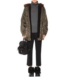 mytheresa.com - Stivaletti in pelle con pelliccia - Luxury Fashion for Women / Designer clothing, shoes, bags