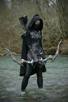 Skyrim cosplay - http://videogamedirectory.net/?s=skyrim