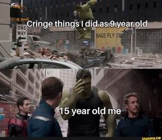 Happy New Year Jump into the meme stream as you browse through daily memes to make you laugh. Want even more funny memes? Funny Marvel Memes, Marvel Jokes, Hulk Memes, Marvel Avengers, Funny Relatable Memes, Funny Posts, Funny Quotes, Games Memes, Funny Images