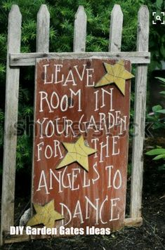 Garden Quotes Signs Sweets 57 Ideas For 2019 - Modern Diy Garden, Garden Crafts, Dream Garden, Garden Projects, Garden Gate, Yard Art Crafts, Garden Junk, Herbs Garden, Garden Stakes