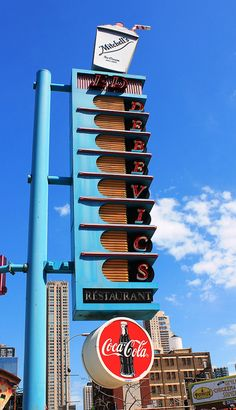 Ed Debevic's Restaurant by Vintage Roadtrip, via Flickr