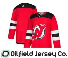 reputable site 81800 5c47e New Jersey Devils Adidas Jersey - Oilfield Jersey Company