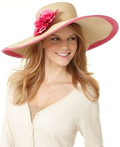 Nine West Packable Floppy Hat. Think it's really packable?