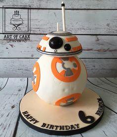 Star Wars BB8 Droid Birthday Cake