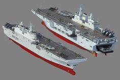 China's new amphibious assault ship, or is it?
