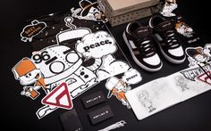 Visual identity for Reflex shoes on Character Design Served
