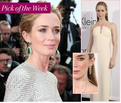 Just when you thought it couldn't get any more glamorous than the Met Ball, the 2015 Annual Cannes Film Festival sets the fashion stakes higher than ever. The 12 day event is full of red carpet premieres and fabulous soirees—plenty of reasons for our favorite celebs to get dressed up to the nines.  One of Our favorites - British beauty Emily Blunt, was out in full force causing a stir with the Heels debate on the red carpet; she reportedly stated that she would rather walk on the red carpet…