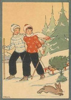Christmas Tree Adventure 1946