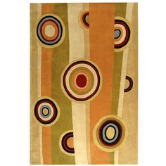 <li>Magnificent hand-tufted wool floor covering makes the perfect accent rug</li> <li>Area rug is crafted to add dimension to your home decor</li> <li>Contemporary rug displays stunning gem tones of red, black, ivory and sage</li>