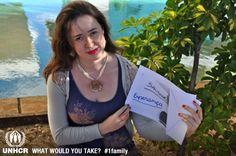 """""""Fecho os olhos na esperança de encontrá-lo e só vejo as dúvidas trazidas pela saudade."""" (Autora: Vera Waterkemper)   - Laeticia Rodrigues de Souza from Hope   - Visit 1family: http://www.unhcr.org/1family"""