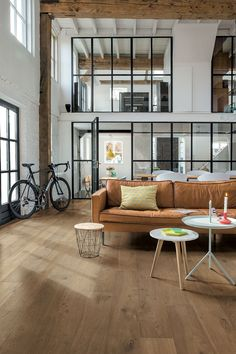 Take a look at these beautiful loft apartment furniture gall Interior Design Living Room, Living Room Decor, Bedroom Decor, Casa Loft, Interior Minimalista, My New Room, Home Fashion, Home And Living, Interior Architecture