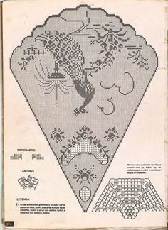 ~ Crochet Style ~: Manteles a crochet Crochet Tablecloth Pattern, Crochet Doily Diagram, Filet Crochet Charts, Crochet Cushions, Crochet Doily Patterns, Crochet Motif, Crochet Designs, Crochet Doilies, Crochet Lace