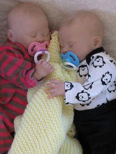 Reborn baby boy girl Twins