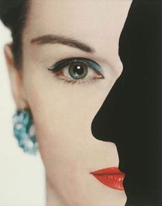Erwin Blumenfeld,   Advertisement for Dana Perfumes c. 1950