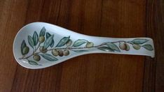 Ceramic Spoons, Spoon Rest, Tableware, Painting, Ceramic Painting, Cutlery, Kitchen Things, Made By Hands, Log Projects
