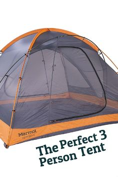 Although 3 person capacity tents are a bit of an odd size, they can be quite versatile. Many people end up going with this in between size because typical 2 person tents don't offer enough room for them, their camping buddy and their gear.