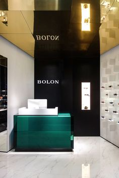 Bolon Eyewear Flagship store by Ippolito Fleitz Group