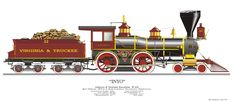 Virginia & Truckee, Locomotive #22, Inyo