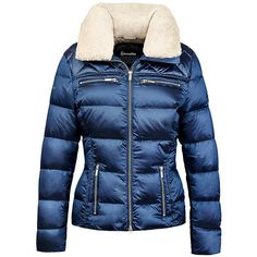 An ultra-lightweight and warm jacket that will keep you cosy and snug through winter. The Cavallo Donatella Ladies Down Jacket has a down filling with a beautiful slim cut to provide exceptional warmth. Equestrian Outfits, Equestrian Style, Equestrian Fashion, Ladies Down Jackets, Winter Outfits, Casual Outfits, Metallic Blue, Quilted Jacket, Keep Warm