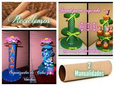 2 Manualidades con tubos de cartón   Aprender manualidades es facilisimo.com