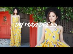 DIY Maxi Dress (can you make the boob area look better?)