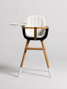Sure Beats Fisher Price, Mid Century Modern Baby Furniture: The Ovo High  Chair By Micuna.