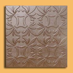 40 PC Antique Ceiling Tile 20x20 Cracow Brown New Modern Design   eBay
