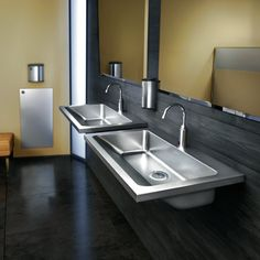 ADA Sinks With 30 Degree Bowl. HEAVY DUTY ADA Stainless Steel Sinks Drop In  And Undermount Sinks For High Exposure Areas. Preferred Choice For Sinks ...