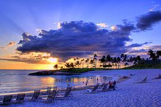 The End of a Beautiful Day...Ko'Olina, Hawaii