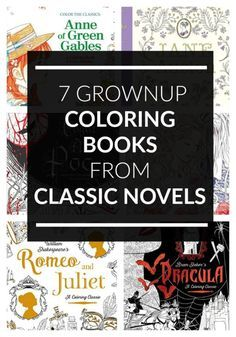 Looking for coloring books based on classic literary novels? Bookworms unite! You have to see these gorgeous designs just for grownups!