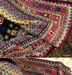 Transcendent Crochet a Solid Granny Square Ideas. Inconceivable Crochet a Solid Granny Square Ideas. Beau Crochet, Crochet Home, Knit Or Crochet, Crochet Crafts, Yarn Crafts, Crochet Projects, Modern Crochet, Single Crochet, Crochet Baby