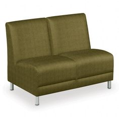 Designer Upholstery Armless 2-Seater // NBF Signature Series Boulevard Collection