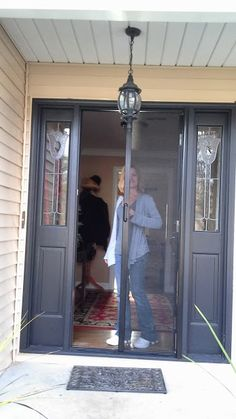 1000 images about retractable screens for door entryways for Hideaway retractable screens