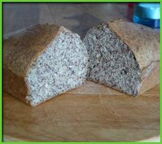 Bread with Linseed and Mascarpone Greens Recipe, Low Carb Recipes, Recipe Ideas, Bread, Cook, Snacks, Baking, Desserts, Mascarpone