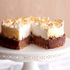 Coconut Meringue Cheesecake