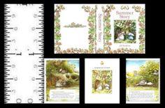 1 12 Miniature Book Summer Story Brambly Hedge | eBay