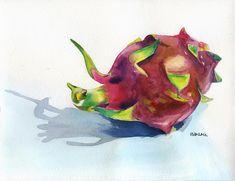 fruits watercolor painting - Tìm với Google